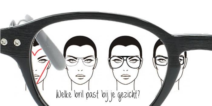 bril bij je gezicht