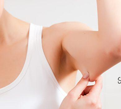 strakke bovenarmen