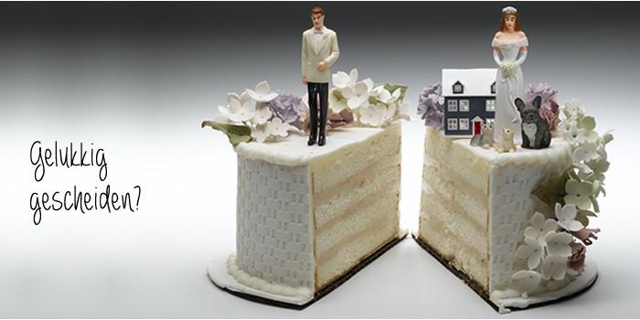 gelukkiger gescheiden