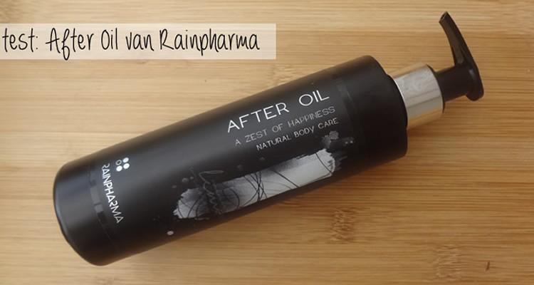 After Oil van RainPharma