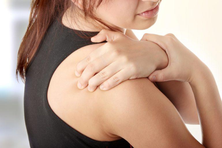 Warmtezak oplossing voor stijve nek en schouders