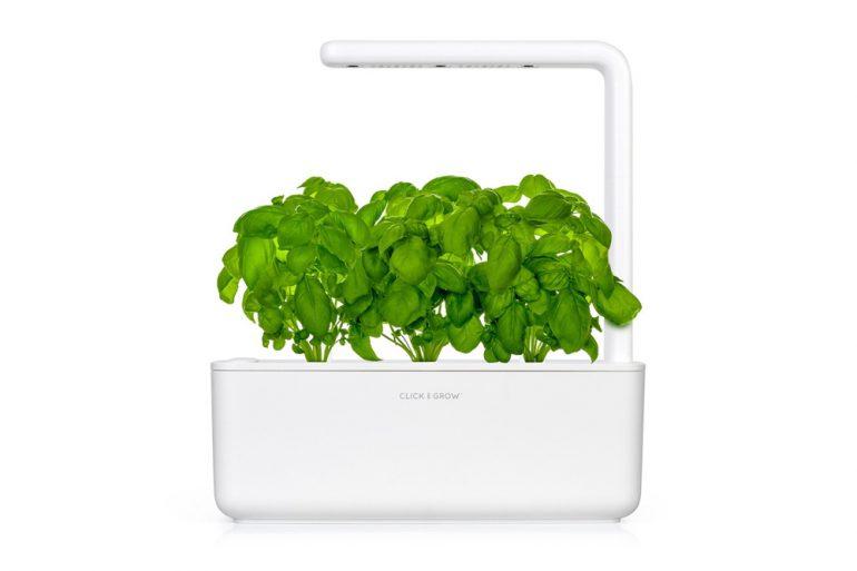 Snel en simpel je eigen kruiden kweken met de Click & Grow