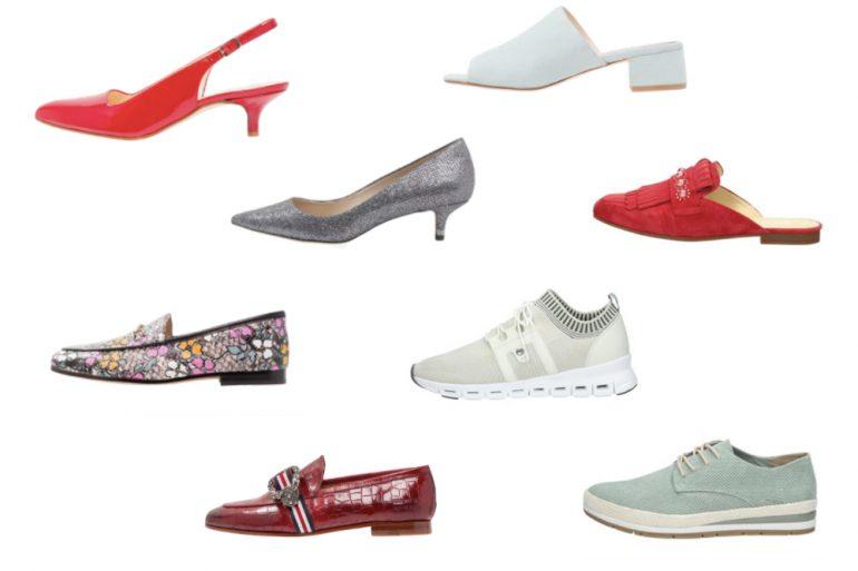 Schoenen trends voorjaar 2018