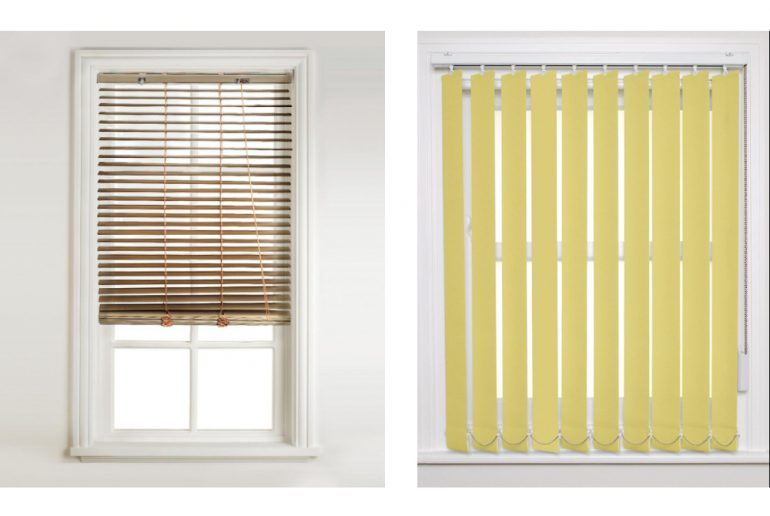 verticale of horizontale blinds