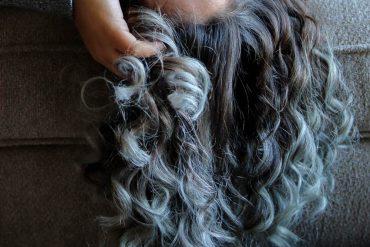 grijs haar verzorgen
