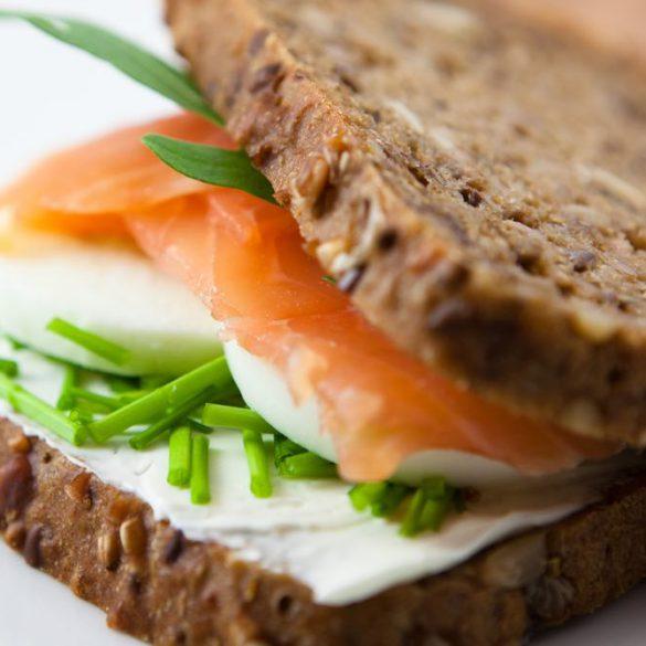 gezond beleg op brood