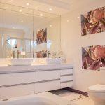 sfeer in badkamer