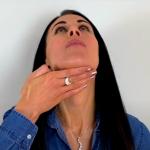 Oefeningen tegen een onderkin