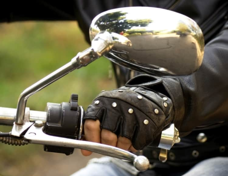 motorhandschoen