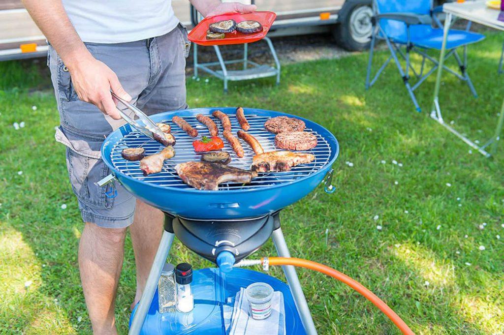 kamperen barbecue